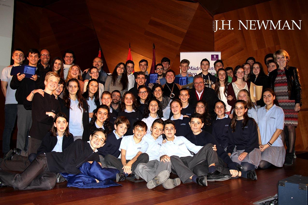 El colegio newman recibe 8 premios en los cert menes - Colegio escolapias madrid ...