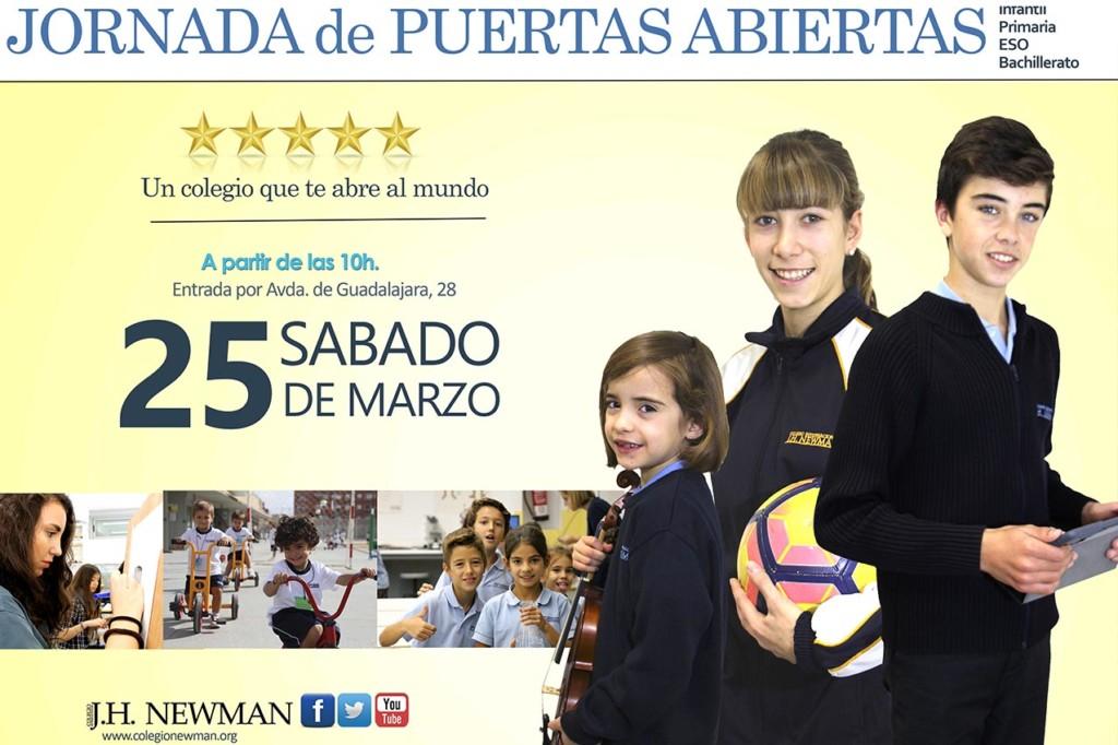 Jornada de Puertas Abiertas Colegio Internacionl J.H. Newman