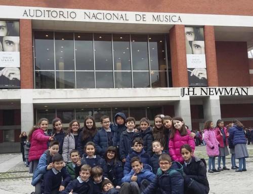 Los alumnos de Primaria disfrutan de un maravilloso concierto en el Auditorio Nacional