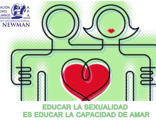 Charla coloquio para padres del Newman 'Educar la sexualidad es educar la capacidad de amar'