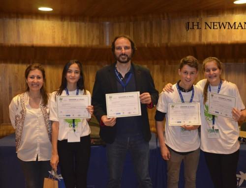 Éxito y 3er. Premio para el Newman en el Concurso de Cristalización de la CAM