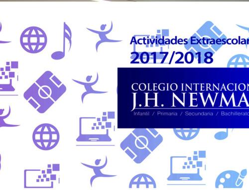 Actividades Extraescolares Newman, curso 2017-2018