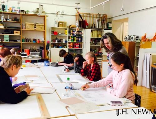 Profesoras de Arte del Newman en Finlandia con Erasmus +