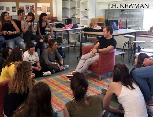 Encuentro con el ilustrador Javier Alonso en Bachillerato de Artes