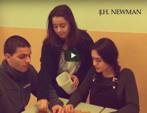 Los alumnos de Bachillerato del Newman participan en el concuso de Bonacci Editore. ¡Vota!
