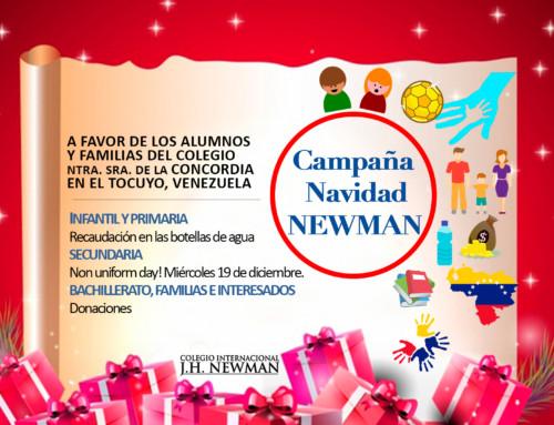 Colabora en la Campaña de Navidad Newman