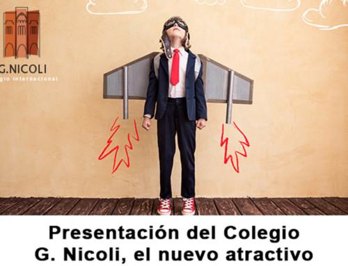 Presentación del Colegio G. Nicoli impulsado por el Newman e Hijas de la Caridad