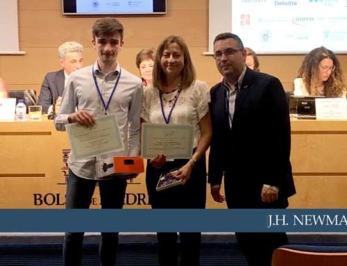 Andrés Oriol del Newman, premiado en la Olimpiada de Economía