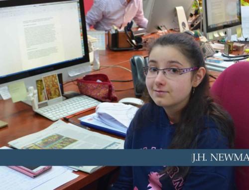 Raquel Cabezaolías escribe un artículo en sus prácticas de 4ºESO+Empresa