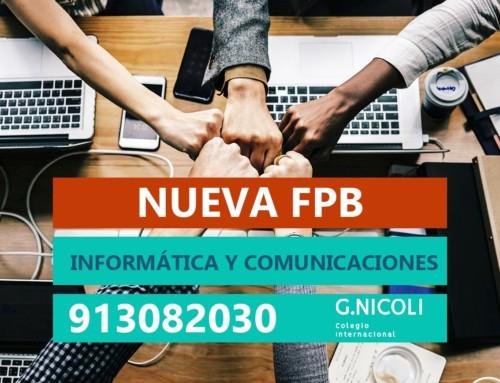 Nueva FP Básica de Informática y Comunicaciones
