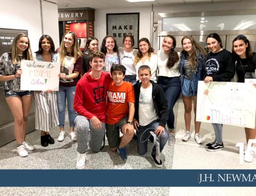 Intercambio de alumnos del Newman con el St. Brendan's College de Miami