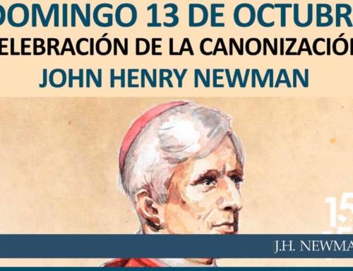 Celebración de la canonización de John Henry Newman en el colegio