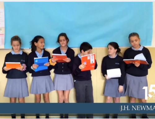 6º de Primaria se pone creativo para aprender los verbos